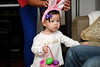 Easter 2012 : The babies (Ella, Leah and Alyssa) were the stars this Easter at Annette's.