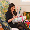 Kim's Baby Shower : Ashley and Lorway hosted a baby shower for Kim and Trevor on Novermber 11, 2012 at Annette's house.