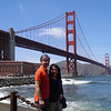 San Francisco : We made a holiday out of Cory &amp; Breanne's wedding (Sacramento) by spending the following week in San Francisco, downtown at the Clift hotel. We arrived in San Fran on April 27th and was picked up by Nap, stayed with him and Joyce overnight, then Nap drove us to Sacramento for the wedding and kindly brought us back via the Nappa Valley.